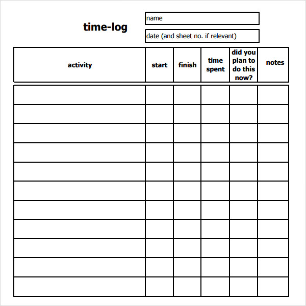 time logging spreadsheet   April.onthemarch.co