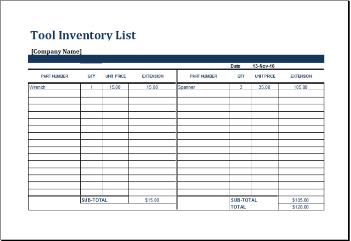 tools inventory template   Boat.jeremyeaton.co