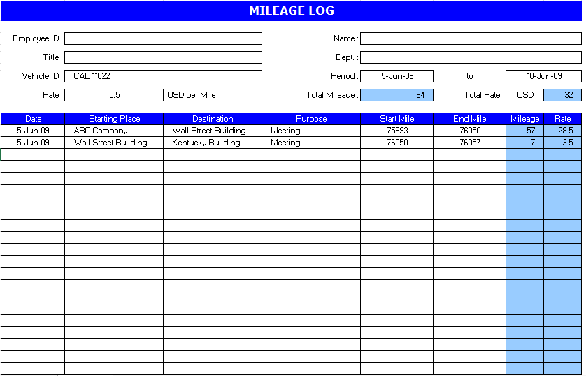 Truck Driver Log Book Excel Template | charlotte clergy coalition