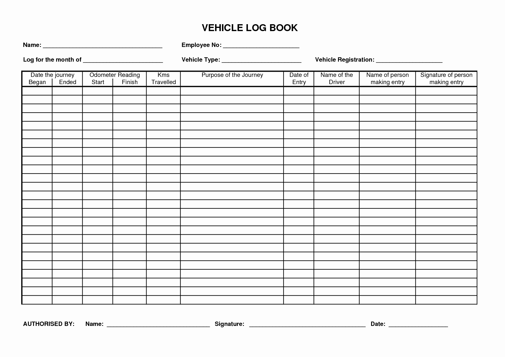 driver log book example   Kleo.beachfix.co