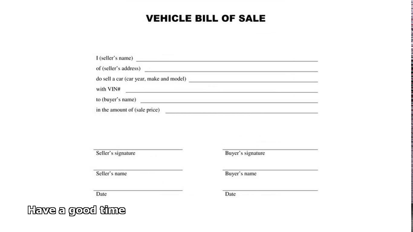 bill of sale dirt bike   Kleo.beachfix.co