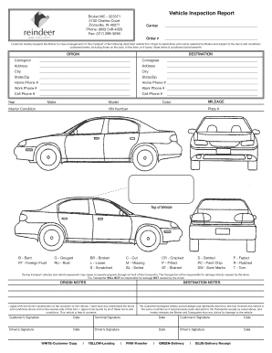 Automotive Inspection Forms Free   Fill Online, Printable