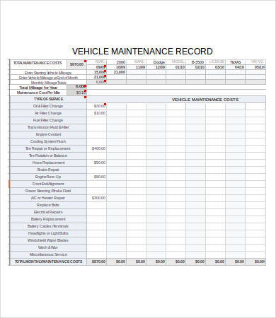 fleet maintenance log   Kleo.beachfix.co
