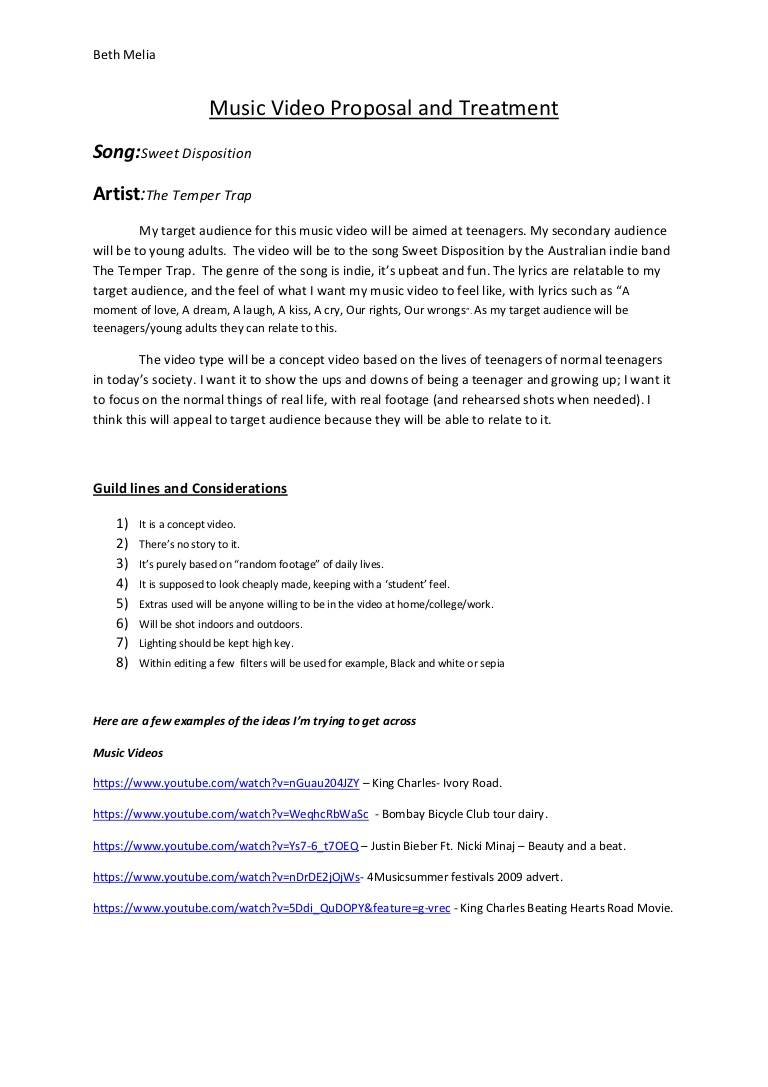videography proposal template   April.onthemarch.co