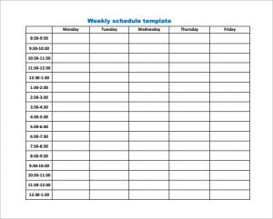 Weekly work schedule template pdf charlotte clergy coalition similar posts weekly schedule template pdf flashek Images