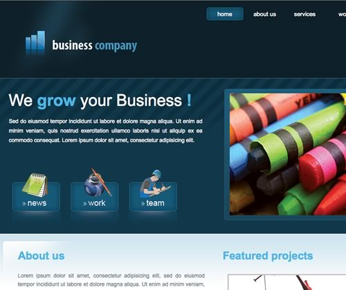 Business templates free download charlotte clergy coalition business templates free download css free downloadable business accmission Image collections