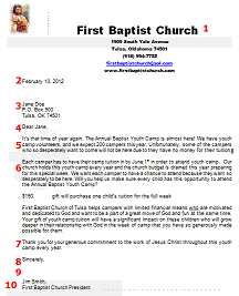 sample donation request letter for church   East.keywesthideaways.co