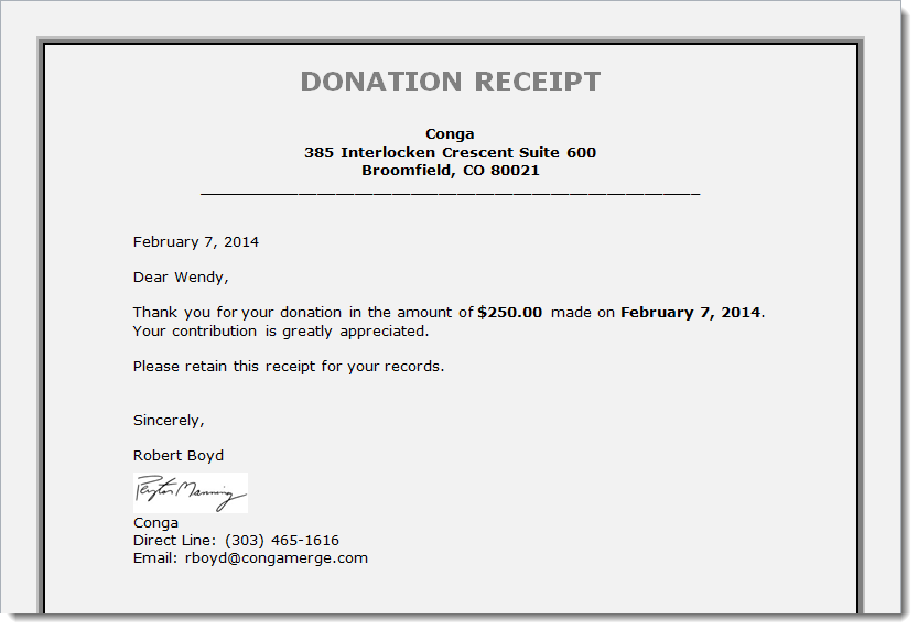 tax donation letter   Koto.npand.co