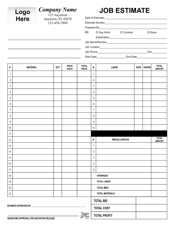 business form templates free business forms templates invoices