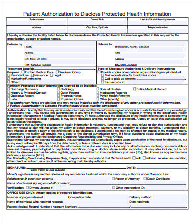 Medical Record Templates | charlotte clergy coalition