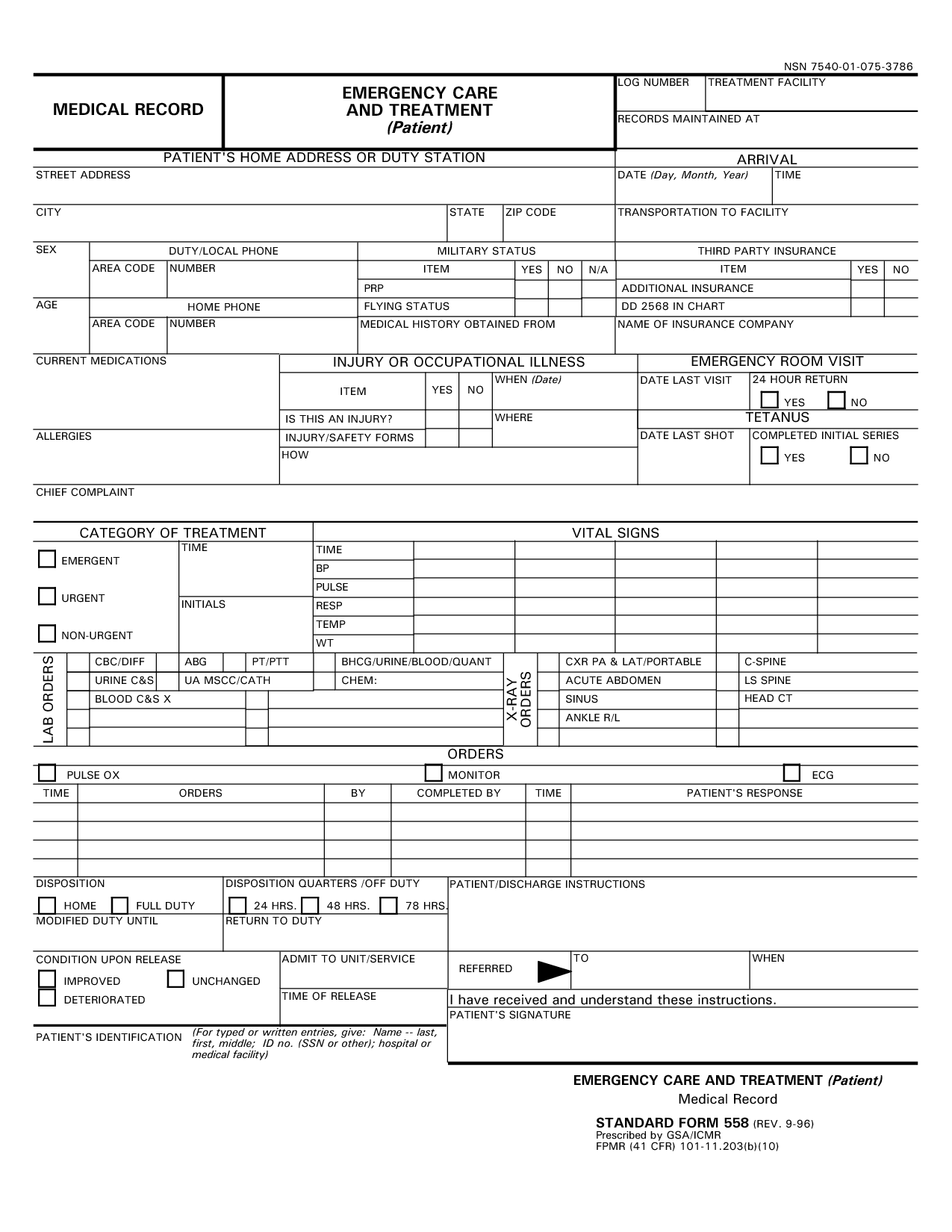 Medical record templates charlotte clergy coalition medical record template eastywesthideaways maxwellsz